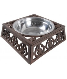 Cast Iron Dog Bowl