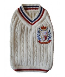 Cricket Sweater - White