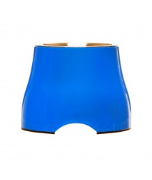 Large Elevated Dog Bowl (Blue)